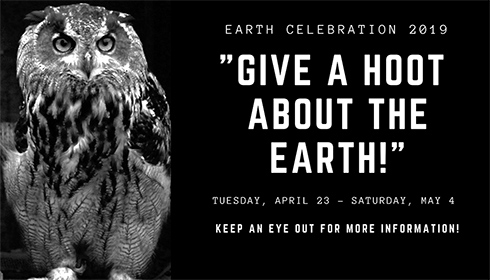 Saint Peter's University. Earth Celebration 2019: Give a Hoot about the Earth