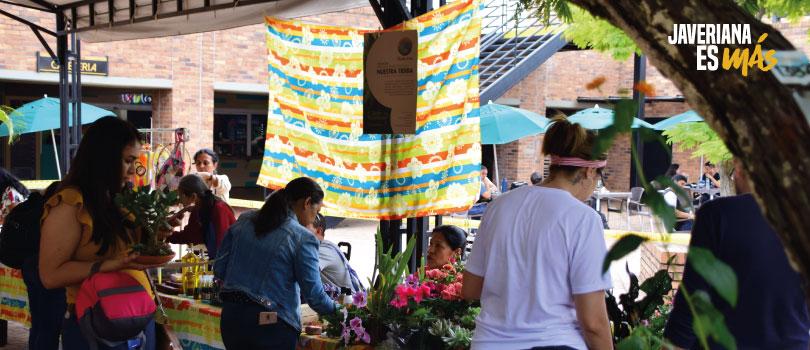 Así se vivió Mercado a la mano – Pontificia Universidad Javeriana de Cali
