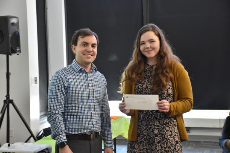 Student Wins Sustainability Competition with Carpool Concept – St. Peter's University