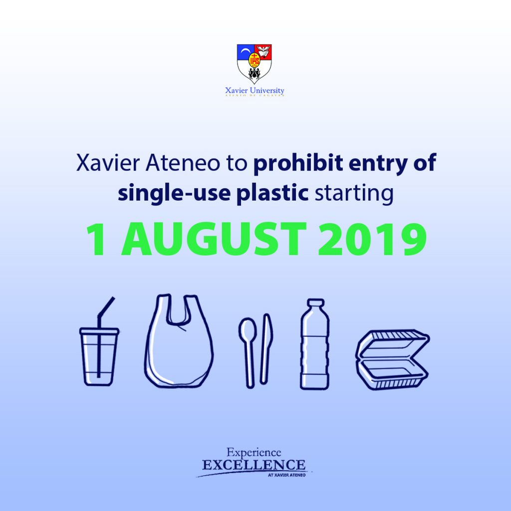 Xavier Ateneo to prohibit entry of single-use plastic – Ateneo de Cagayan
