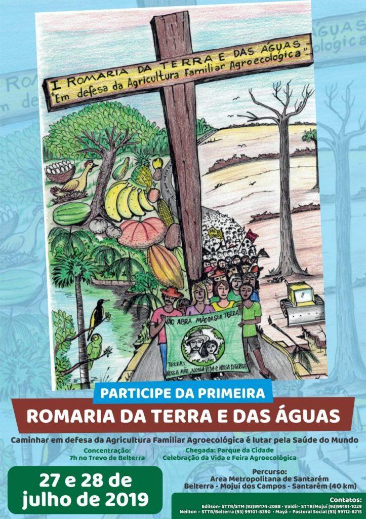 Santarém organiza Romaria da Terra e das Águas – REPAM