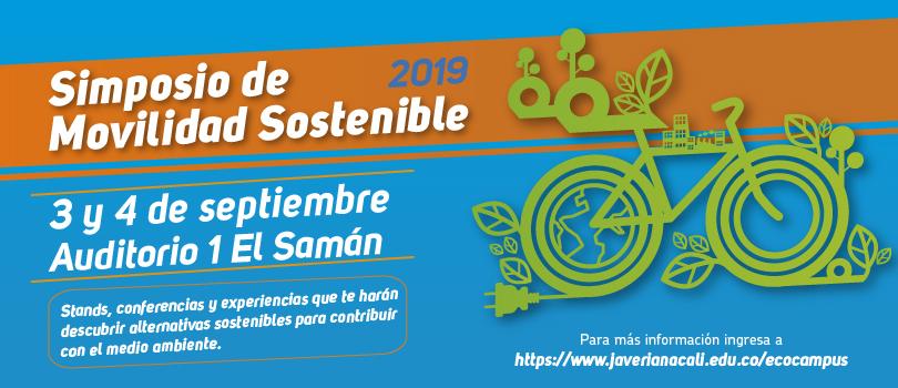 Simposio de Movilidad Sostenible – Pontificia Universidad Javeriana de Cali