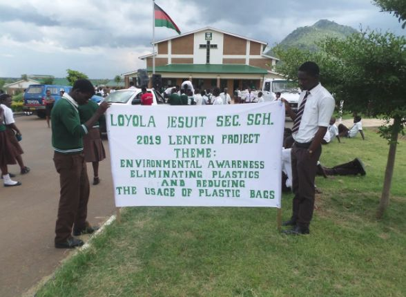 "LJSS Learners Say, ""Stop the Use of Plastics!"" – Loyola Jesuit Secondary School (LJSS)"