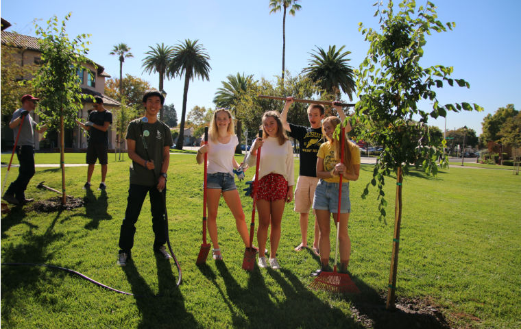 Santa Clara University Honored for Sustainability Achievements