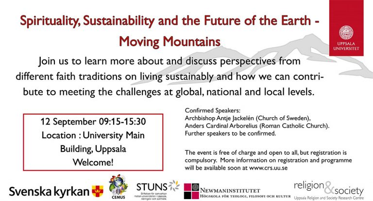 Spirituality, Sustainability and the Future of the Earth – Moving Mountains – Newman Institute