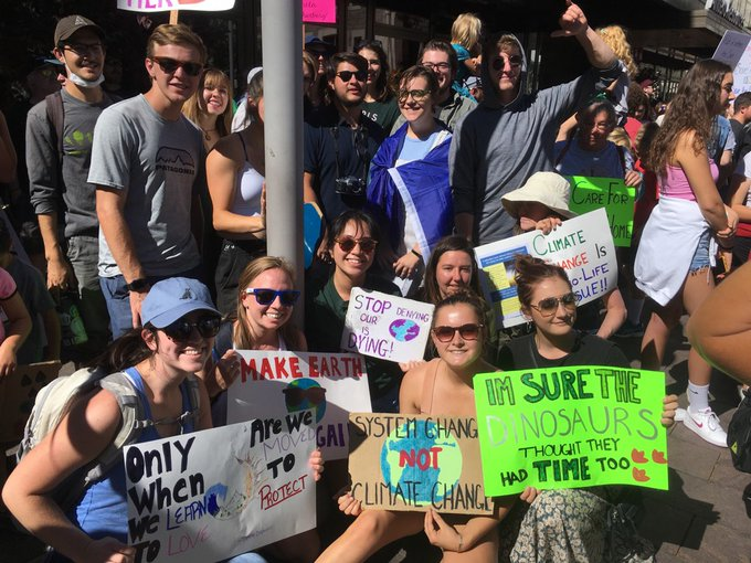 Students from @ Regis University  at the Denver Climate Strike! – Twitter