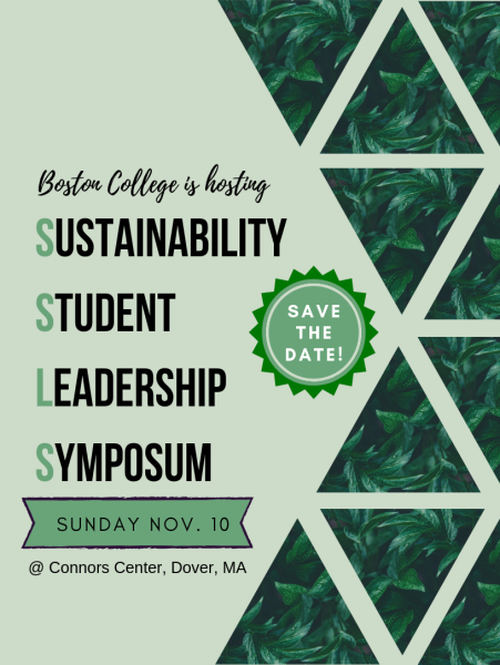 SAVE THE DATE: SUSTAINABILITY STUDENT LEADERSHIP SYMPOSIUM –