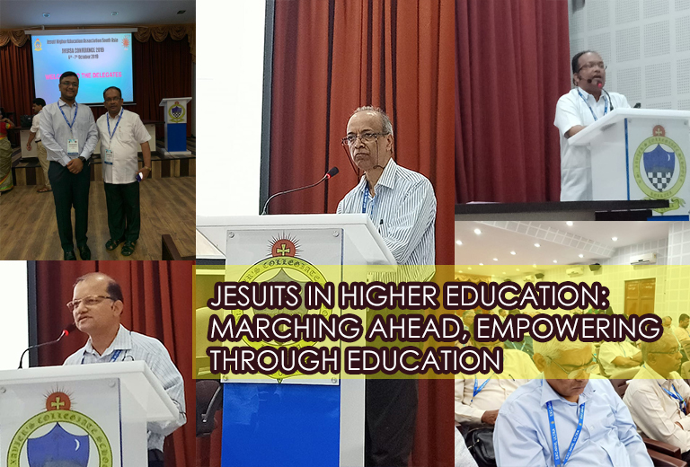 JESUITS IN HIGHER EDUCATION: MARCHING AHEAD, EMPOWERING THROUGH EDUCATION – Siji SJ