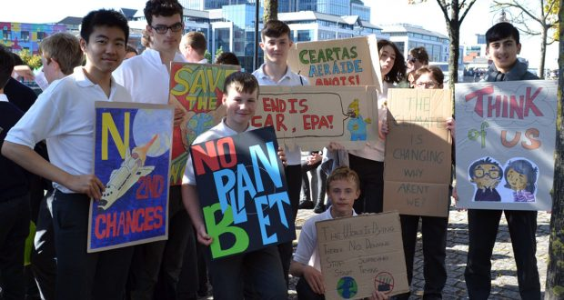 Prayer and protest for climate action – Jesuits in Ireland