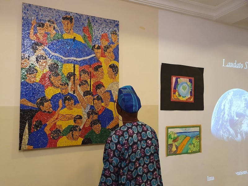 Jesuits in North West Africa Province hold an Art Exhibition inspired by Laudato Si' – Ugo Nweke SJ