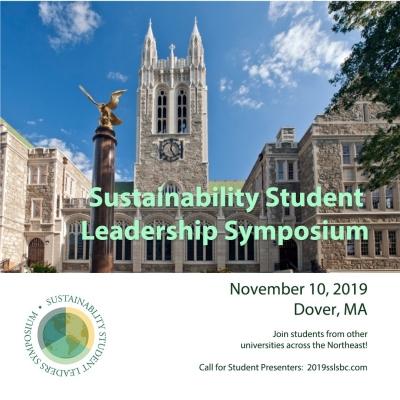Sustainability Student Leaders Symposium – Boston College