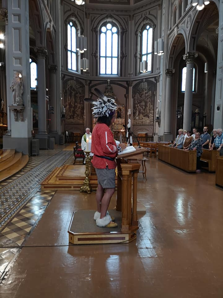 Church of the Gesù in Montreal Celebrates First Indigenous Mass – Jesuits of Canada