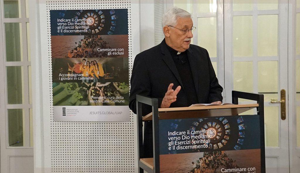 """""""Construyendo juntos un futuro lleno de esperanza"""" – Padre General Arturo Sosa, SJ"""