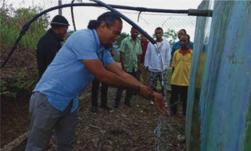 New Water Facility in Matata Supplies Clean Water to 180 Households – Jesuits Timor Leste