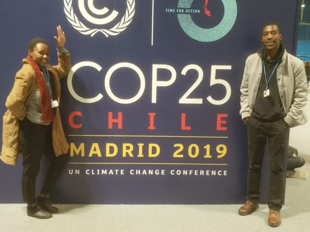 CYNESA Rwanda Delegate Experience from COP25 Chile Madrid; Time for Action