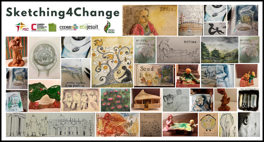 Sketching4Change: Drawing Laudato Si' – Ecojesuit