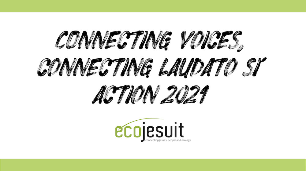 Connecting voices, connecting Laudato Si': Action 2021 (a video) – Ecojesuit