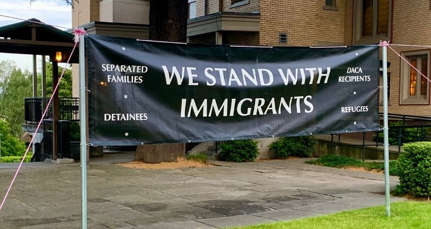 Jesuit Ministries in Washington State host vigil in support of undocumented workers – Ignatian Solidarity Network