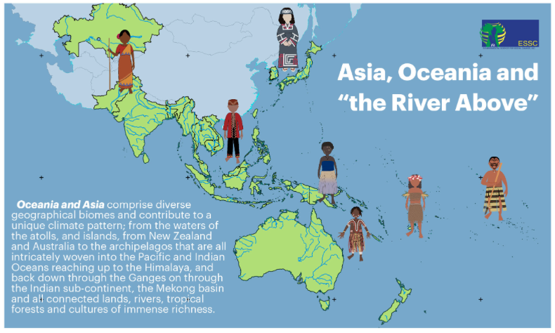 River above Asia Oceania Ecclesial Network for forests, oceans, and peoples – Ecojesuit
