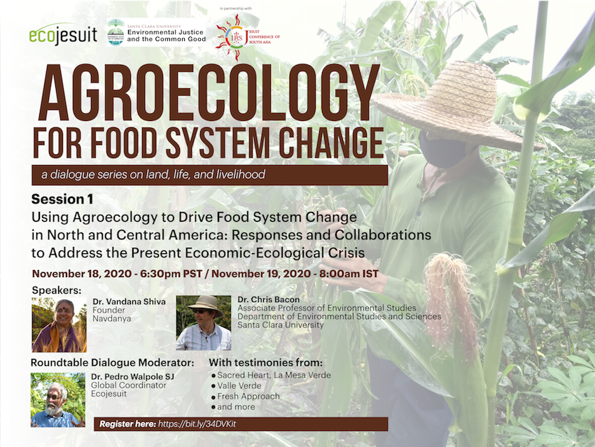 Agroecology for food system change: A dialogue series on land, life, and livelihood – Ecojesuit